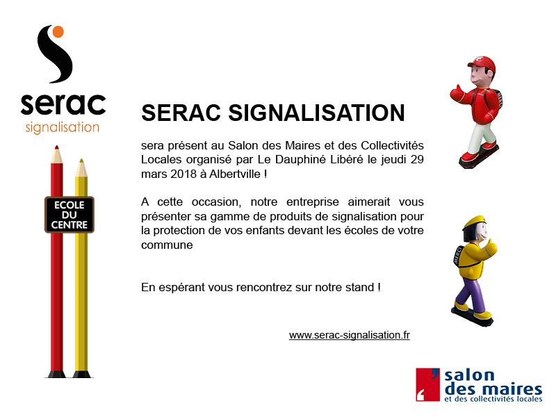 Actualit s de s rac signalisation r alisations de totems panneaux de signalisation et barri res - Salon des maires et des collectivites locales ...